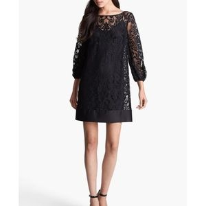 Laundry by Shelli Segal Black Lace Cocktail Dress